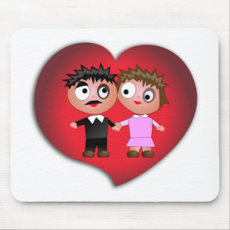 lovers copy11 mouse pad