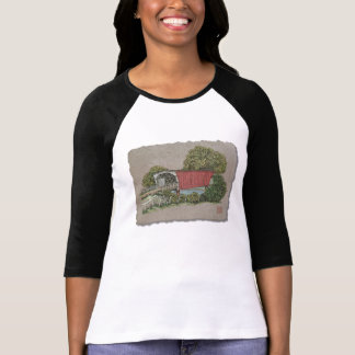 Lovers Covered Bridge T-shirt