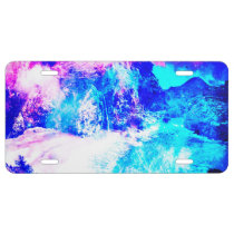 Lover's Creation Hideawa Cove Dreams License Plate