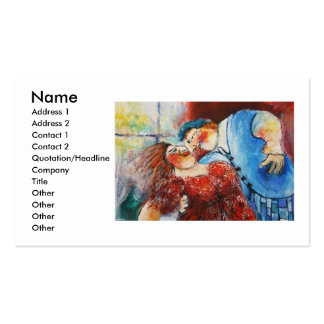 Lovers Dance Business Card