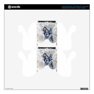 Lovers dancing in rain PS3 controller skin