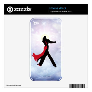 Lovers dancing in the love star skin for iPhone 4S