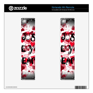 LOVERS DECALS FOR WII REMOTES