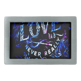 Lover's Dream The Ones that Love Us Belt Buckle