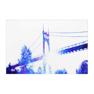Lover's Dreams of a Bridge to Anywhere Acrylic Wall Art