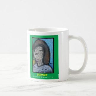 """Lover's Eyes"" by Zermeno Classic White Coffee Mug"