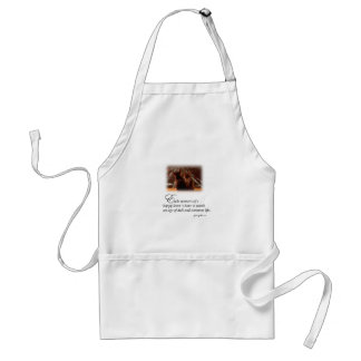 Lovers' Happy Moment Adult Apron