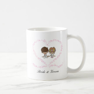 Lovers Heart-Bride and Groom-1 Coffee Mug