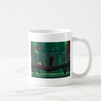Lovers in a Lost Paradise Coffee Mug