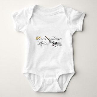Lovers in League Against Satan - Angel/Demon Baby Bodysuit