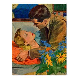 Lovers in Love Postcard