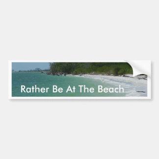Lovers Key Beach Car Bumper Sticker