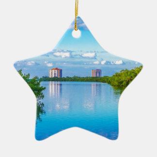 Lovers Key Beach State Park Ceramic Ornament