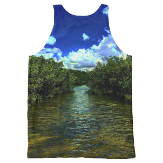 Lovers Key Florida All Over Print All-Over Print Tank Top