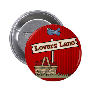 Lovers Lane Pinback Buttons