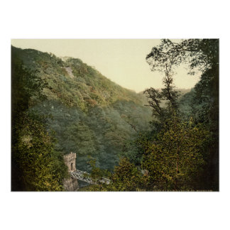 Lover's Leap, Dargle, County Wicklow Poster