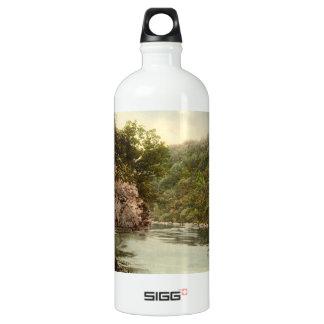 Lover's Leap, Dartmoor, Devon, England Water Bottle