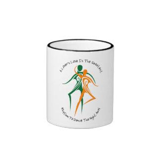 Lover's Love Ringer Mug