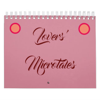 Lovers' Microtales 2019 two paged calendar