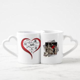 Lovers' Mug Set, Style-List.biz Couples' Coffee Mug Set