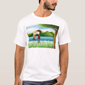 Lovers near the river T-Shirt