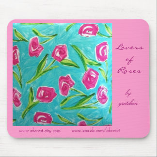 Lovers of Roses Mousepad