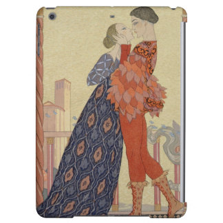 Lovers on a Balcony (w/c on paper) iPad Air Covers