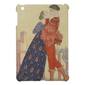 Lovers on a Balcony (w/c on paper) iPad Mini Cover