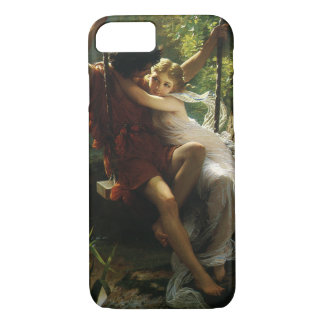 Lovers on a Swing. Spring by Pierre Auguste Cot iPhone 7 Case