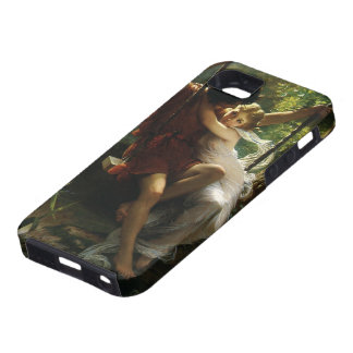 Lovers on a Swing. Spring by Pierre Auguste Cot iPhone SE/5/5s Case