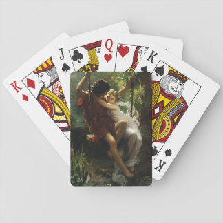 Lovers on a Swing. Spring by Pierre Auguste Cot Poker Deck