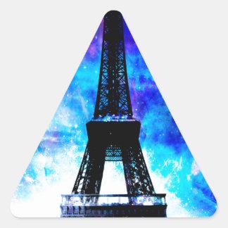 Lovers Parisian Creation Dreams Triangle Sticker