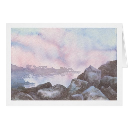 Lover's Point, Monterey, CA Greeting Card