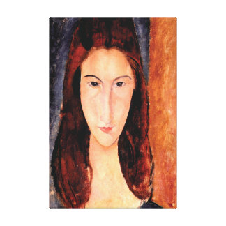 Lover's Portrait by Amedeo Modigliani 1919 Canvas Print