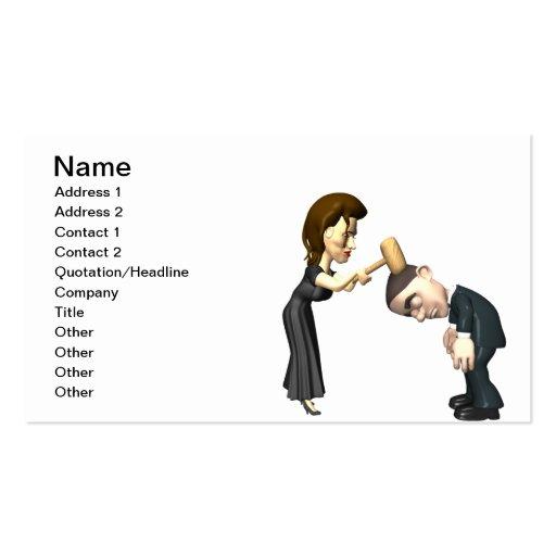 Lovers Quarrel Business Card Templates