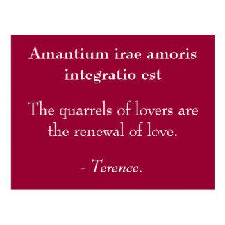 Lovers Quarrels Postcard