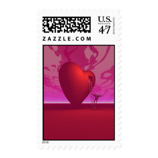 Lovers Romancing Postage