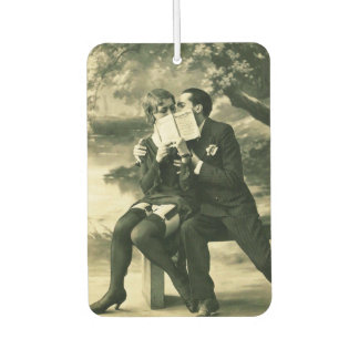 Lovers Secrets Sexy Vintage Pin-Up Couple Love Car Air Freshener