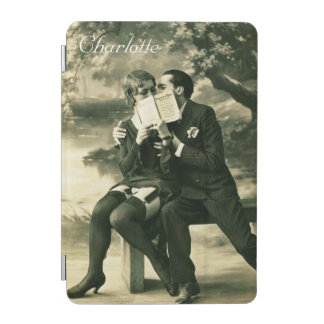 Lovers Secrets Sexy Vintage Pin-Up Couple Love iPad Mini Cover