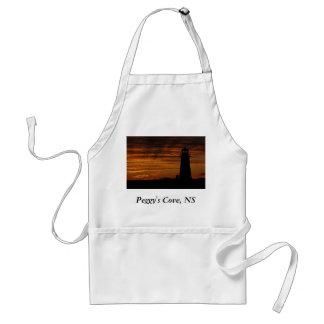 Lover's Silhouette, Peggy's Cove, Nova Scotia Adult Apron