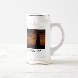 Lover's Silhouette, Peggy's Cove, Nova Scotia Beer Stein