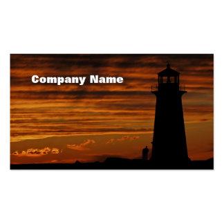Lover's Silhouette, Peggy's Cove, Nova Scotia Business Card