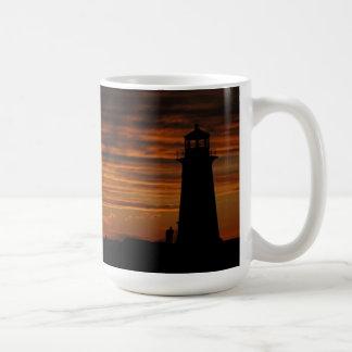 Lover's Silhouette, Peggy's Cove, Nova Scotia Coffee Mug