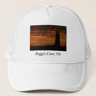 Lover's Silhouette, Peggy's Cove, Nova Scotia Trucker Hat
