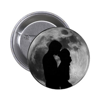 Lovers Silhouette Pinback Button