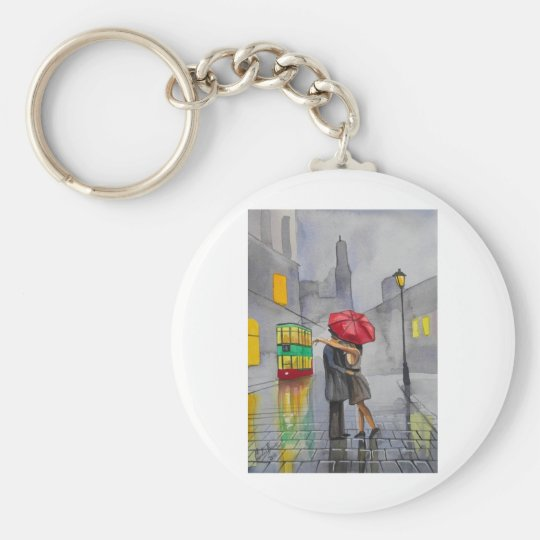 LOVERS UMBRELLA KEYCHAIN