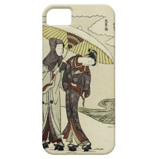 Lovers Under an Umbrella iPhone SE/5/5s Case