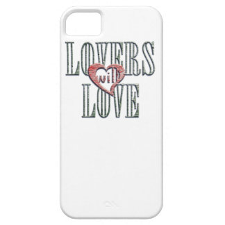 Lovers will Love - weathered wood iPhone SE/5/5s Case