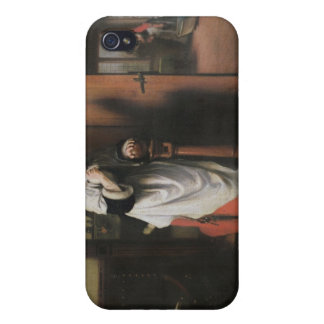 Lovers with a Woman Listening iPhone 4 Covers