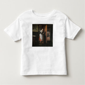 Lovers with a Woman Listening Tees